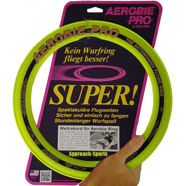 Funsports AEROBIE Ring Pro big Geel
