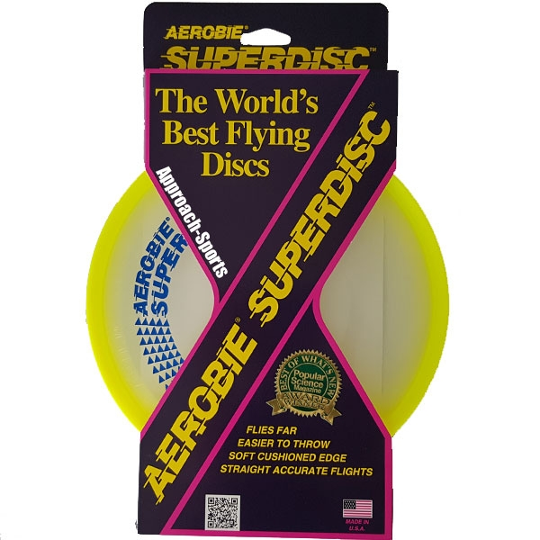 Funsports AEROBIE Superdisc Geel frisbee