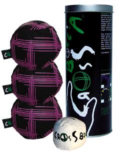 Funsports Crossboccia® Purple Tube of 3