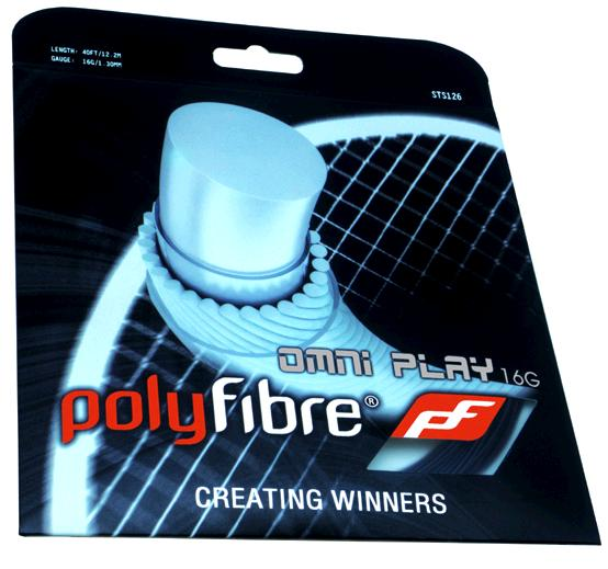 Polyfibre OMNI PLAY 16G 1,30 mm. tennissnaar