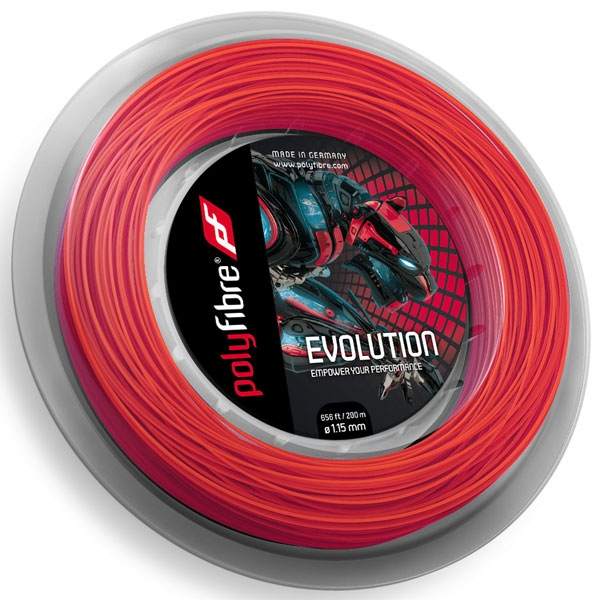 Polyfibre-Evolution 200 m. tennissnaar