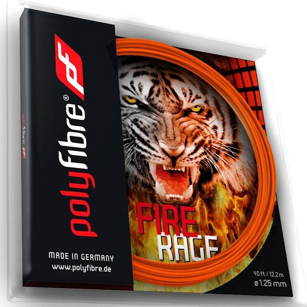 Polyfibre Fire Rage 12 m. tennissnaar