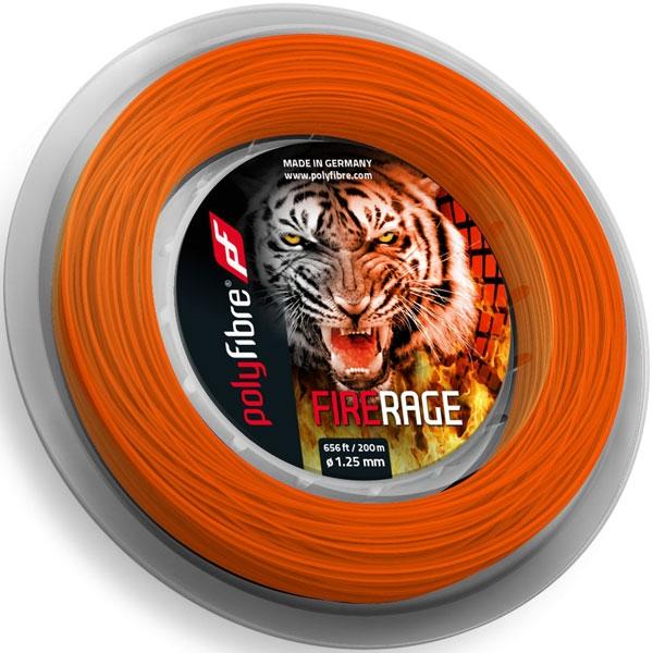 Polyfibre Fire Rage 200 m. tennissnaar