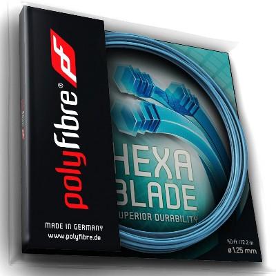 Polyfibre Hexablade 12 m. tennissnaar