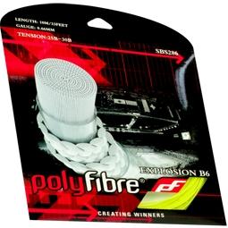 Polyfibre Explosion B6 0,66mm badmintonsnaar