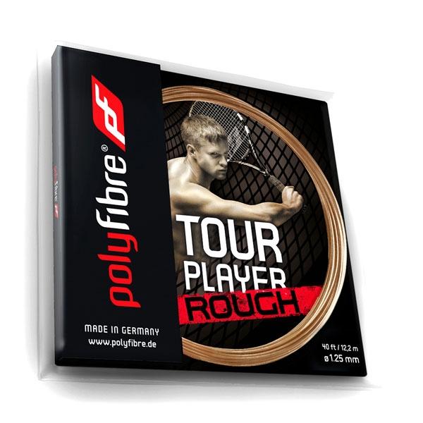Polyfibre Tour Player Rough 1.25 tennissnaar 12 m.
