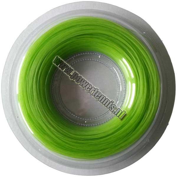 Powertennis 200 m. Super Flex Synthetic 1,30 mm Groene tennissnaar
