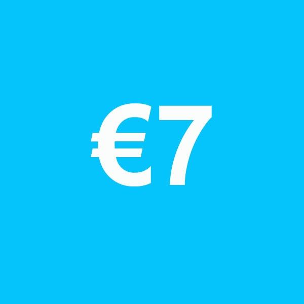 Powertennis Waardebon 7 euro