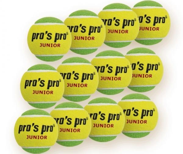 Pro's Pro Junior Mid-Speed tennisballen junior 12 stuks