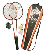 Talbot Torro Black Magic Badminton Set Speedminton®light