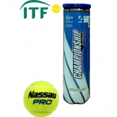 Nassau CHAMPIONSHIP 4-ball tube, ITF approved