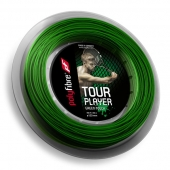 Polyfibre Tour Player Green Touch 1.23 tennissnaar 200 m.
