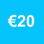 Powertennis Waardebon 20 euro