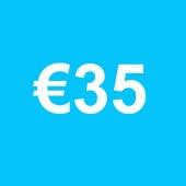 Powertennis Waardebon 35 euro