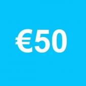 Powertennis Waardebon 50 euro