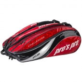Pro's Pro 12-Racketbag Challenger rood L107 tennistas