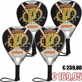 Pro's Pro 4 Padel rackets D1 en D2