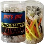 Pro's Pro Max demper 60 stuks voor tennisrackets