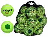 Pro's Pro Stage 1 tennisbal junior 12 stuks ITF approved