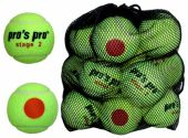 Pro's Pro Stage 2 tennisbal junior 12 stuks ITF approved