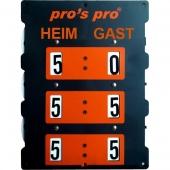 Pro's Pro tennis scorebord