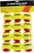 Dunlop Junior Stage 3 Red 12BL tennisballen 12 Stuks