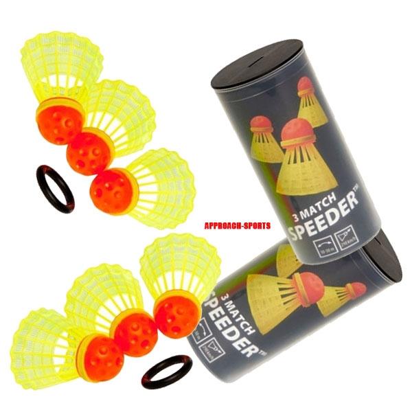 Speedminton® 6 Match Speeders Speedbadminton