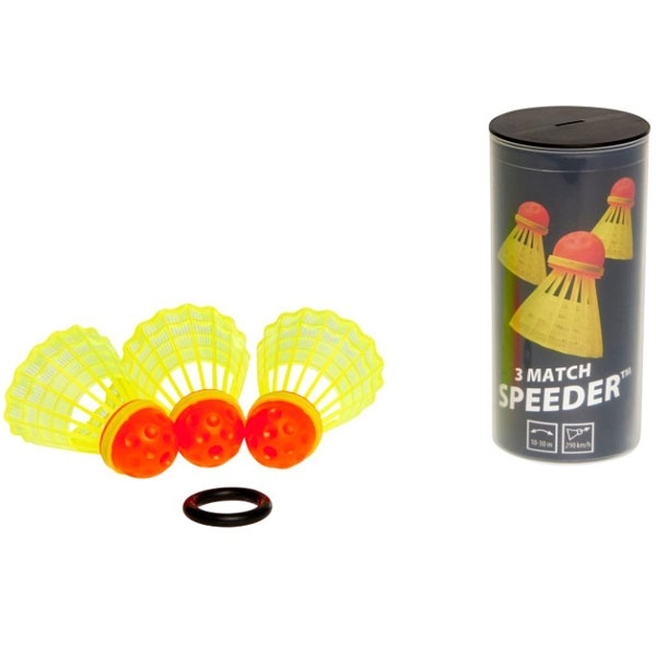 Speedminton® Tube MATCH Speeders Speedbadminton 3 stuks