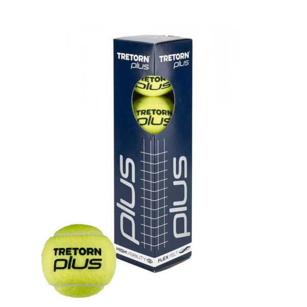 Tretorn plus tennisballen 4 stuks