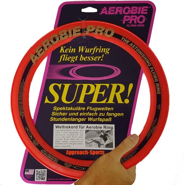 Funsports AEROBIE Ring Pro big Oranje