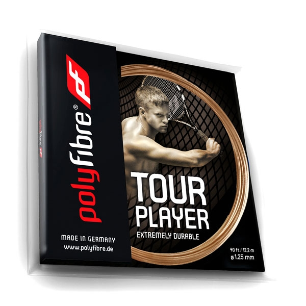 Polyfibre Tour Player 1.25 tennissnaar 12 m.