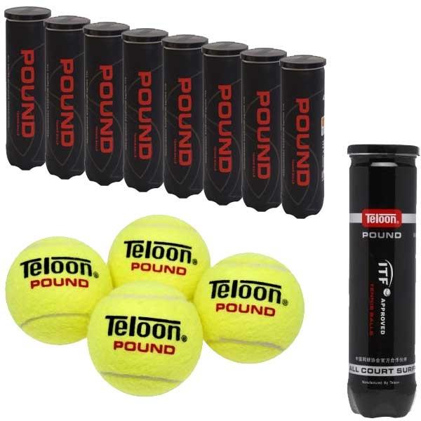 Pro's Pro Teloon Pound Tennisbälle 4er ITF approved