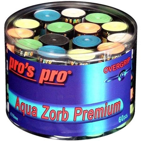 Pro's Pro Aqua Zorb Premium overgrips 60er