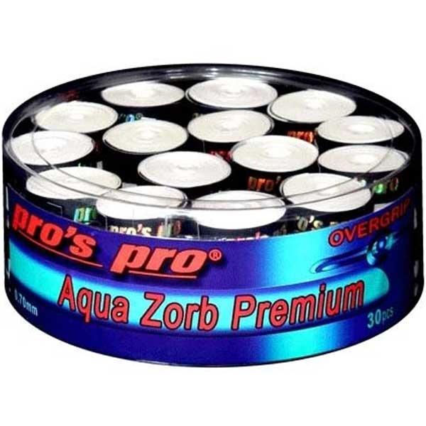 Pro's Pro Aqua Zorb Premium overgrip 30 stuks wit