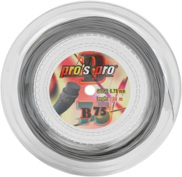 Pro's Pro B 75 Silber 100m. Badmintonsaite