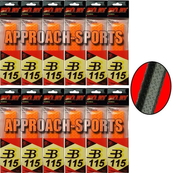 Pro's Pro Basic Grip B115 Oranje 12 stuks