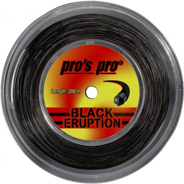 Pro's Pro Black ERUPTION  200 m. tennissnaar