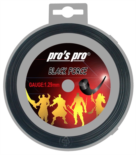 Pro's Pro Black Force 12 m. tennissnaar