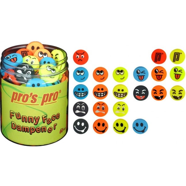 Pro's Pro Funny Face dempers 60 stuks
