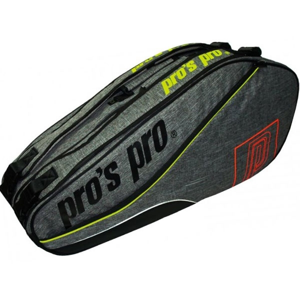 Pro's Pro Racketbag-8 graphite