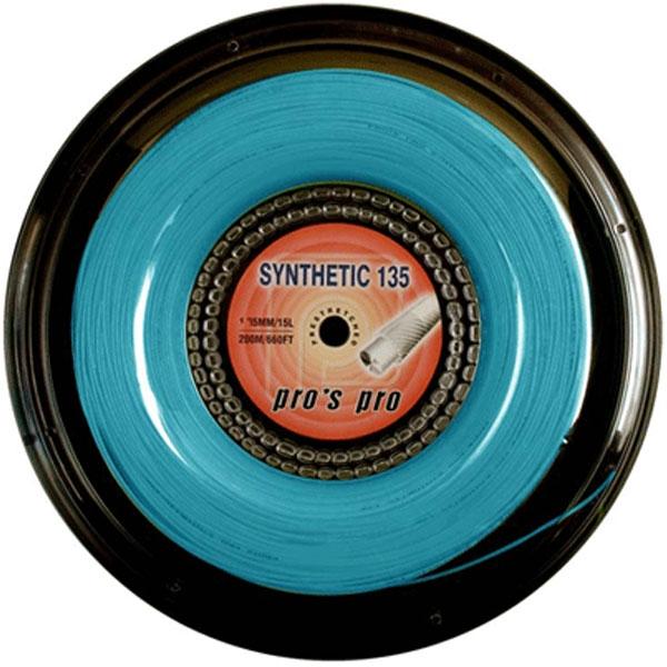 Pro's Pro Synthetic 1,35 mm. Blauw 200 m. tennissnaar