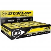 Dunlop squashballen dubbel geel 1 dozijn