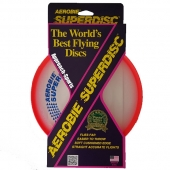 Funsports AEROBIE Super-Disc Frisbee Orange-red
