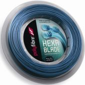 Polyfibre Hexablade 200 m. tennissnaar