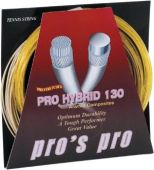 Pro's Pro Hybrid 1.30 mm. Tennissaite