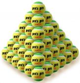 Pro's Pro Junior Tennisbälle gelb/grün 60er
