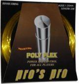 Pro's Pro Poly Flex 12 m. tennissnaar