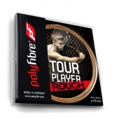 Polyfibre Tour Player Rough 1.25 tennissnaar 12 m.