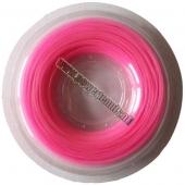 Powertennis 200 m. Super Flex Synthetic 1,30 mm Roze tennissnaar