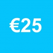 Powertennis Waardebon 25 euro